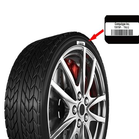 轮胎硫化标签材料