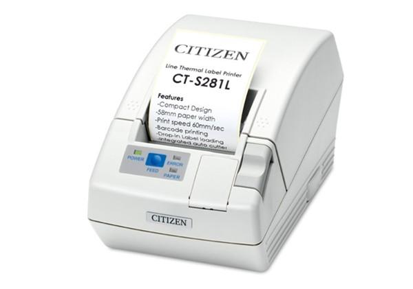 CT-S281L 小型票据及QR二维码打印机