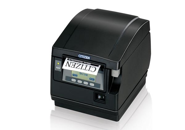 CT-S851 高速POS打印机配有前置出纸口