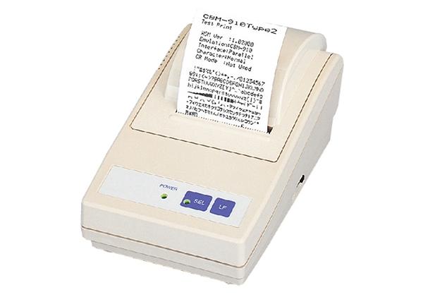CBM-910II是POS打印机体积的微小型号之一