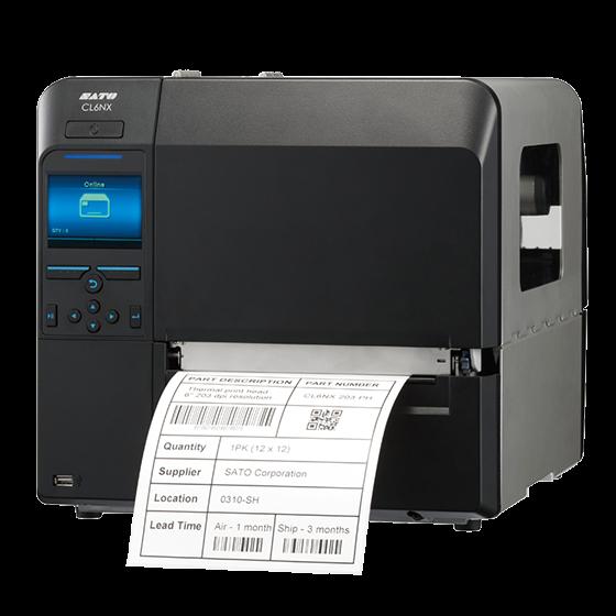 CL6NX 全球通用型6英寸宽幅智能条码打印机